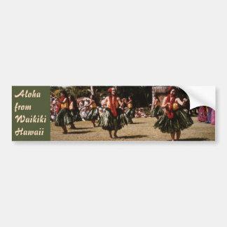 Hula Show Bumper Sticker