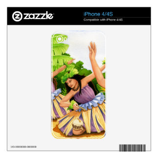 Hula Skins For The iPhone 4