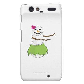 Hula Snowman Droid RAZR Covers