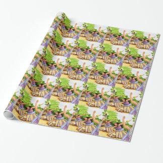 Hula Wrapping Paper