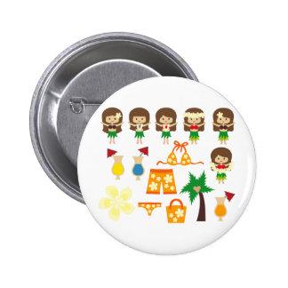HulaGirls1 Buttons