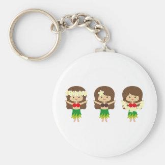 HulaGirls4 Key Chains