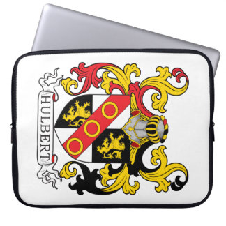 Hulbert Family Crest Laptop Sleeve