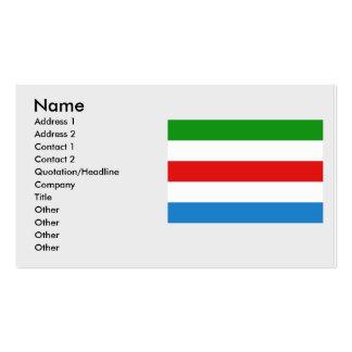 Huldenberg, Belgium Business Card Template