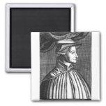 Huldrych Zwingli 2 Inch Square Magnet