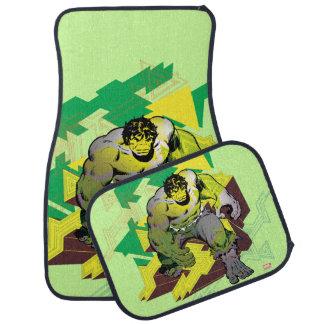 Hulk Abstract Graphic Car Mat