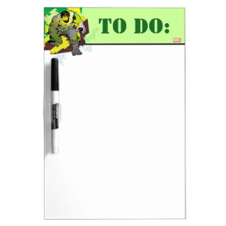Hulk Abstract Graphic Dry-Erase Board