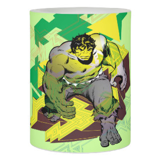 Hulk Abstract Graphic Flameless Candle