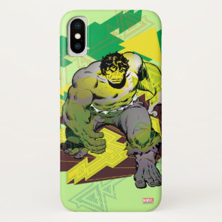 Hulk Abstract Graphic iPhone X Case
