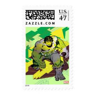 Hulk Abstract Graphic Postage
