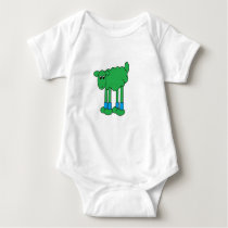 Hulk Body Sheep Baby Bodysuit