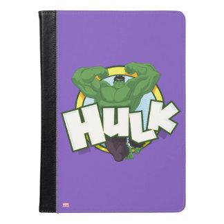 Hulk Character and Name Graphic iPad Air Case