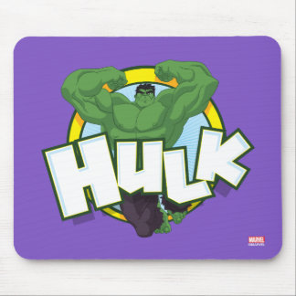 Hulk Character and Name Graphic Mouse Pad