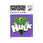 Hulk Character and Name Graphic Postage Stamp