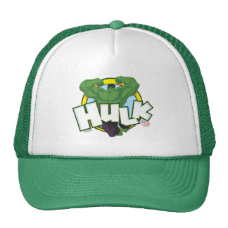Hulk Character and Name Graphic Trucker Hat