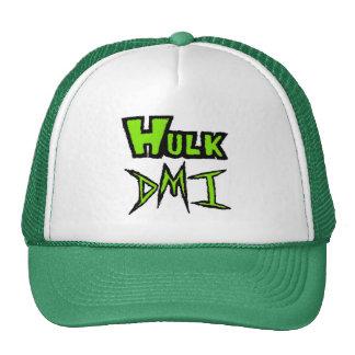 Hulk DMI Name Logo Green/White Trucker Hat