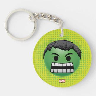 Hulk Emoji Keychain