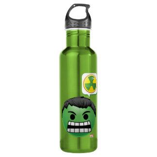 Hulk Emoji Stainless Steel Water Bottle