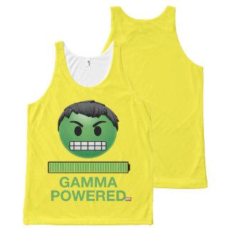 Hulk Gamma Powered Emoji All-Over-Print Tank Top