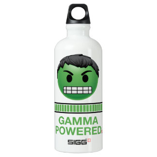 Hulk Gamma Powered Emoji Water Bottle