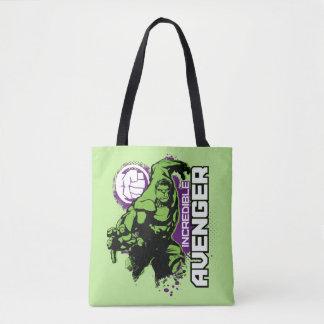 Hulk Incredible Avenger Tote Bag