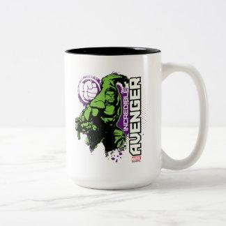 Hulk Incredible Avenger Two-Tone Coffee Mug