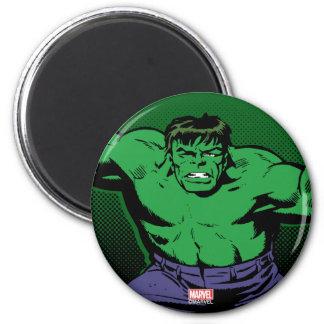 Hulk Retro Arms 2 Inch Round Magnet