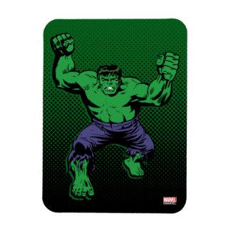 Hulk Retro Arms Rectangular Photo Magnet