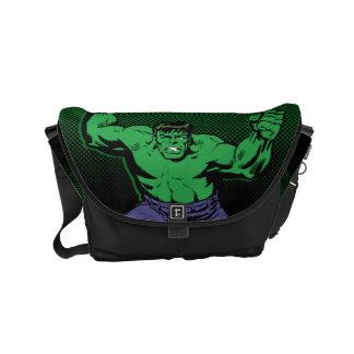 Hulk Retro Arms Small Messenger Bag