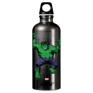 Hulk Retro Arms Water Bottle