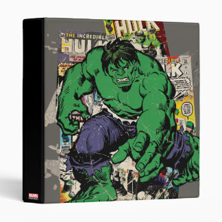 Hulk Retro Comic Graphic Binder