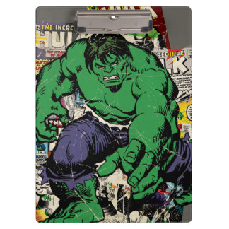 Hulk Retro Comic Graphic Clipboard