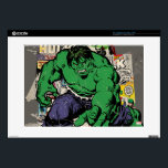 "Hulk Retro Comic Graphic Decal For 15&quot; Laptop<br><div class=""desc"">Check out this retro Hulk posed in front of several of his vintage comic books.</div>"