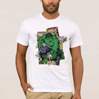 Hulk Retro Comic Graphic T-Shirt