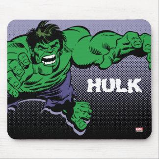 Hulk Retro Dive Mouse Pad