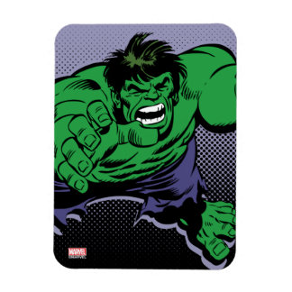 Hulk Retro Dive Rectangular Photo Magnet
