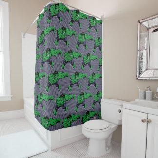 Hulk Retro Dive Shower Curtain