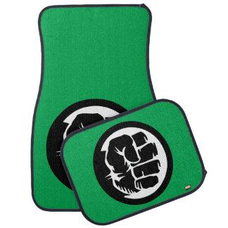Hulk Retro Fist Icon Car Floor Mat