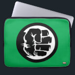 "Hulk Retro Fist Icon Computer Sleeve<br><div class=""desc"">Check out this retro icon for The Incredible Hulk,  featuring Hulk&#39;s clenched fist in vintage comic book style drawing.</div>"