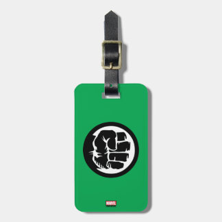 Hulk Retro Fist Icon Luggage Tag