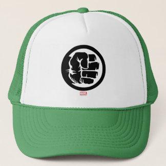 Hulk Retro Fist Icon Trucker Hat