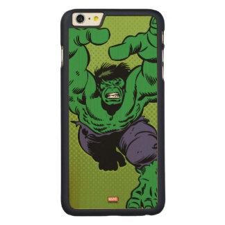 Hulk Retro Grab Carved Maple iPhone 6 Plus Slim Case
