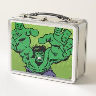 Hulk Retro Grab Metal Lunch Box