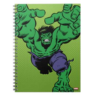 Hulk Retro Grab Notebook