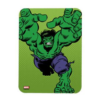 Hulk Retro Grab Rectangular Photo Magnet