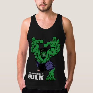 Hulk Retro Grab Tank Top