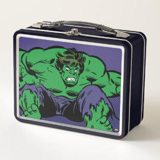 Hulk Retro Jump Metal Lunch Box