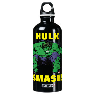 Hulk Retro Jump Water Bottle