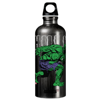 Hulk Retro Lift Aluminum Water Bottle