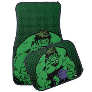 Hulk Retro Stomp Car Floor Mat